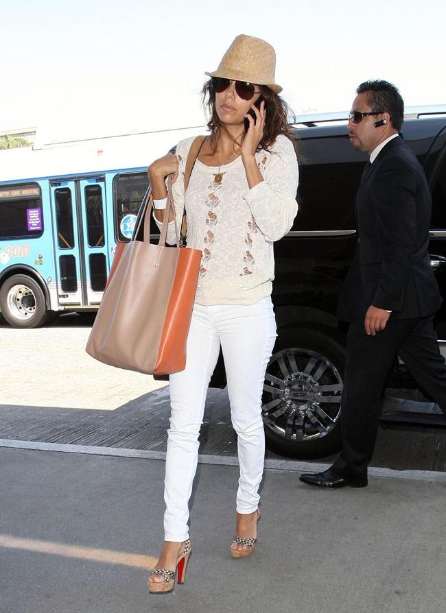 Eva Longoria le 10 août 2012 à Los Angeles