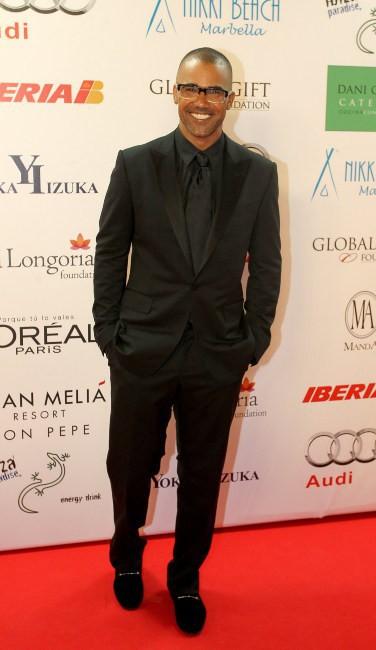 Shemar Moore lors du Global Gift Gala à Marbella, le 4 août 2013.