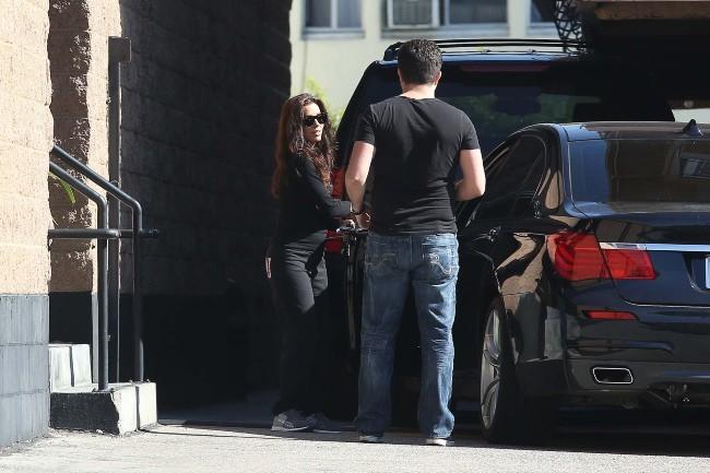 Eva Longoria le 30 janvier 2012 à Los Angeles