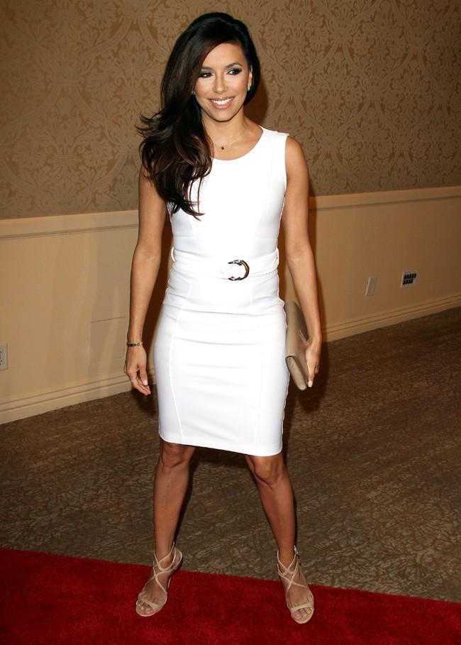 Eva Longoria au déjeuner Luncheon pour la presse étrangère organisé à Beverly Hills le 13 août 2013