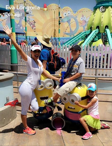 Eva Longoria a passé un excellent moment avec sa famille