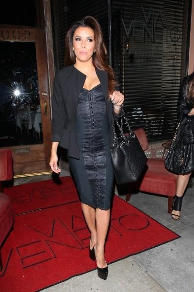 Eva Longoria à Santa Monica, le 25 avril 2013.