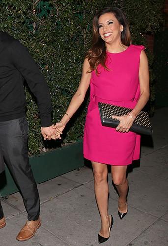 Eva Longoria et José Antonio Baston à Los Angeles le 27 décembre 2013