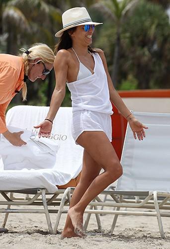 Eva Longoria à Miami le 13 septembre 2014