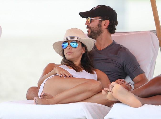 Eva Longoria et Jose Antonio Baston à Miami le 13 septembre 2014