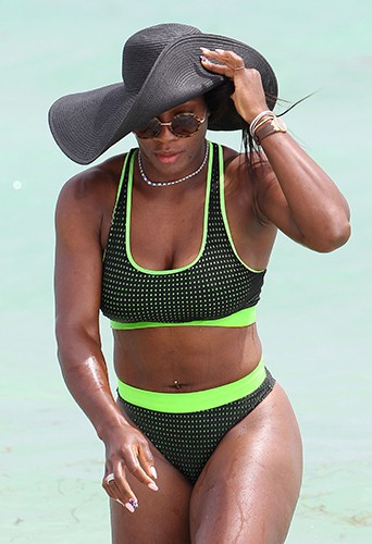 Serena Williams à Miami le 13 septembre 2014