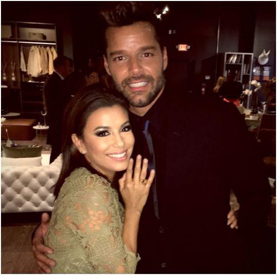 """Photos : Eva Longoria et Ricky Martin : des """"friends"""" comme on les aime !"""