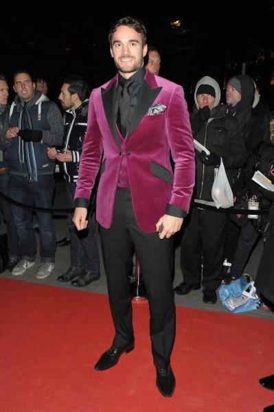 Tom Evans lors du Global Gift Gala à Londres, le 19 novembre 2013.