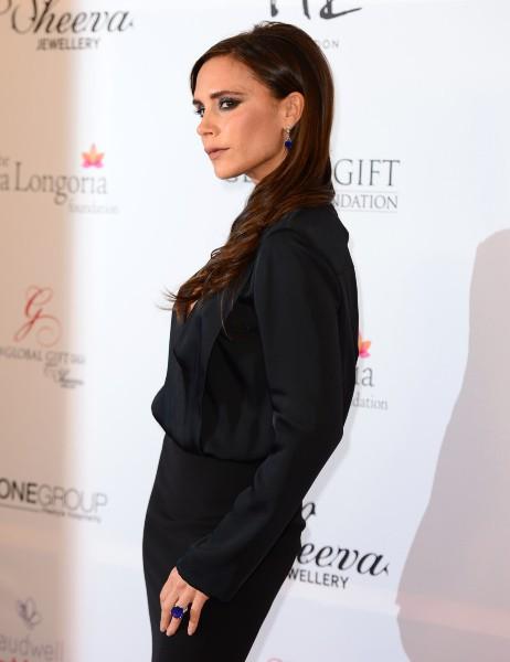 Victoria Beckham lors du Global Gift Gala à Londres, le 19 novembre 2013.