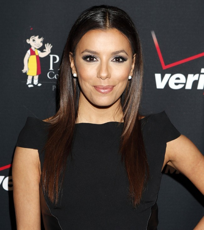 Eva Longoria, Long Beach, 7 novembre 2012.