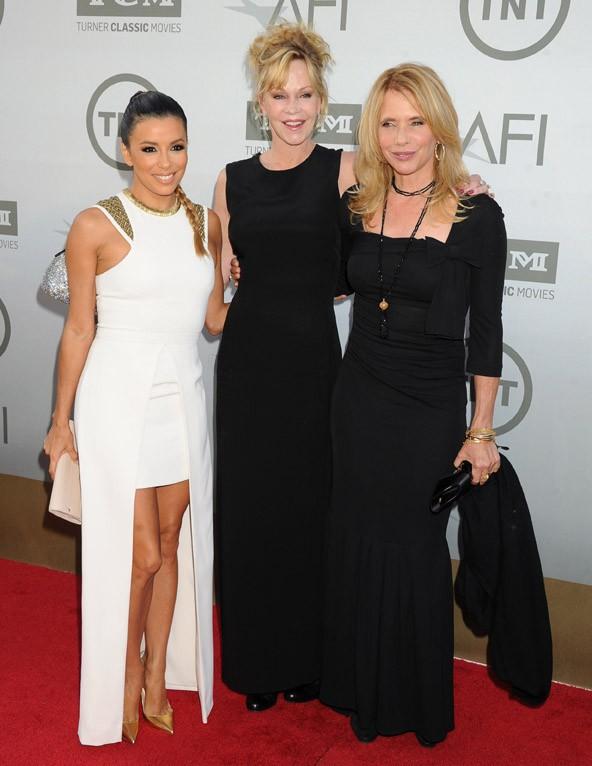 Eva Longoria et Felicity Huffman à Hollywood le 5 juin 2014