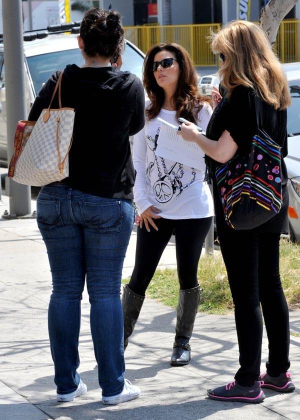 Eva Longoria à Los Angeles le 27 mars 2013