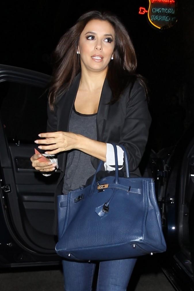 Eva Longoria au Château Marmont de Los Angeles le 18 février 2013