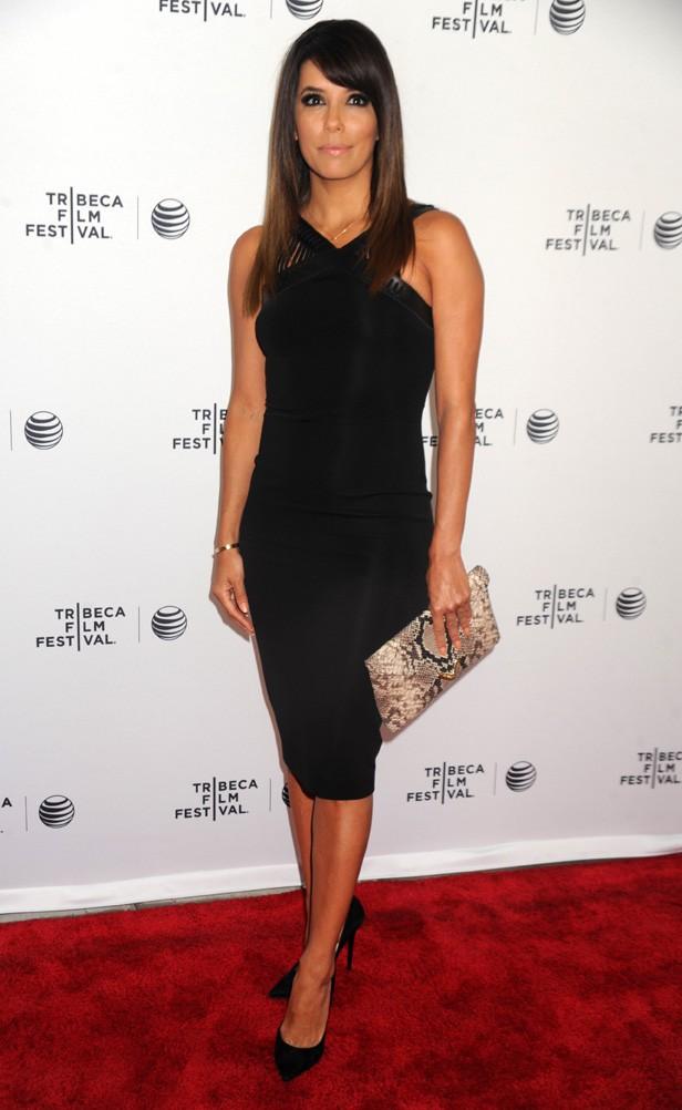 Eva Longoria au Festival de Tribeca de New-York le 26 avril 2014
