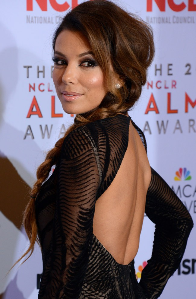 Eva Longoria à la cérémonie des ALMA Awards organisée à Los Angeles le 27 septembre 2013