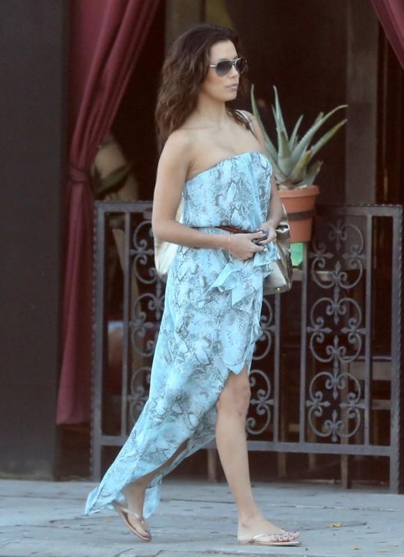 Eva Longoria, Sherman Oaks, 3 novembre 2012.