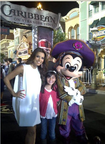 Pose avec Mickey !