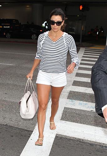 Eva Longoria à Los Angeles le 17 avril 2014