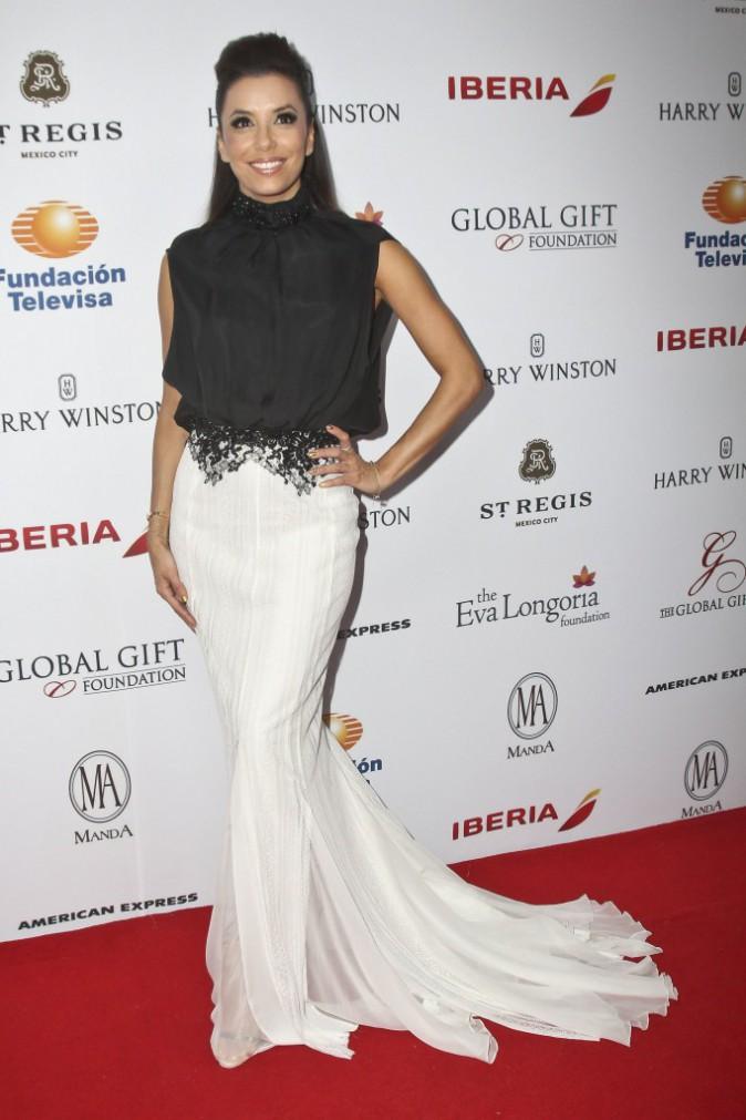 Eva Longoria lors du Global Gift Gala à Mexico City, le 30 janvier 2014.