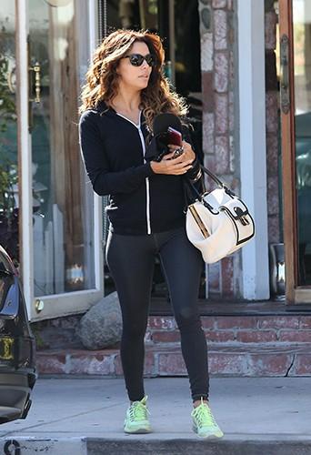 Eva Longoria à Los Angeles le 1er novembre 2013