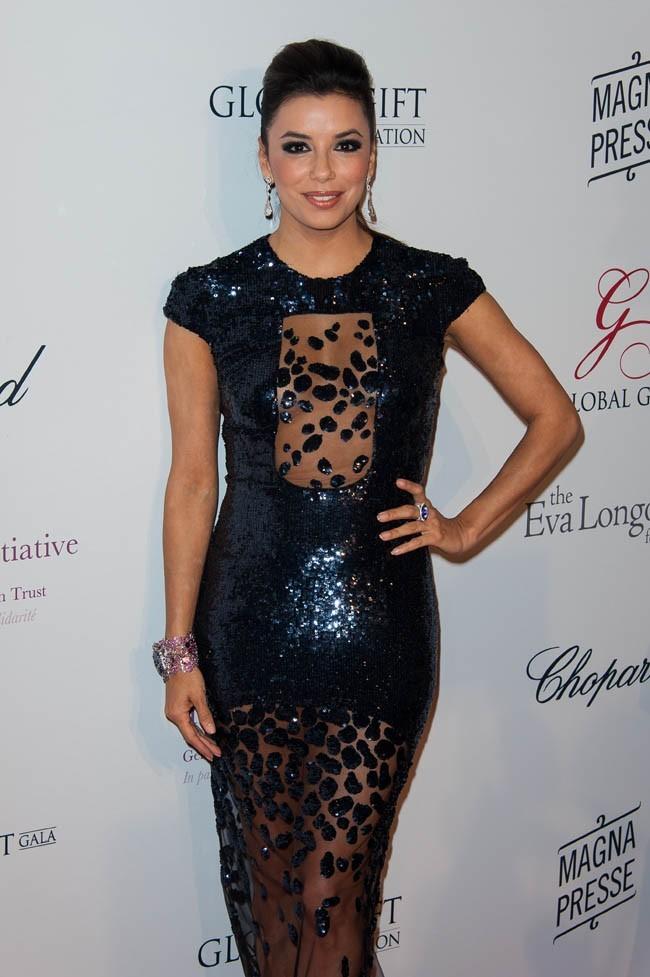 Eva Longoria le 13 mai 2013 à Paris