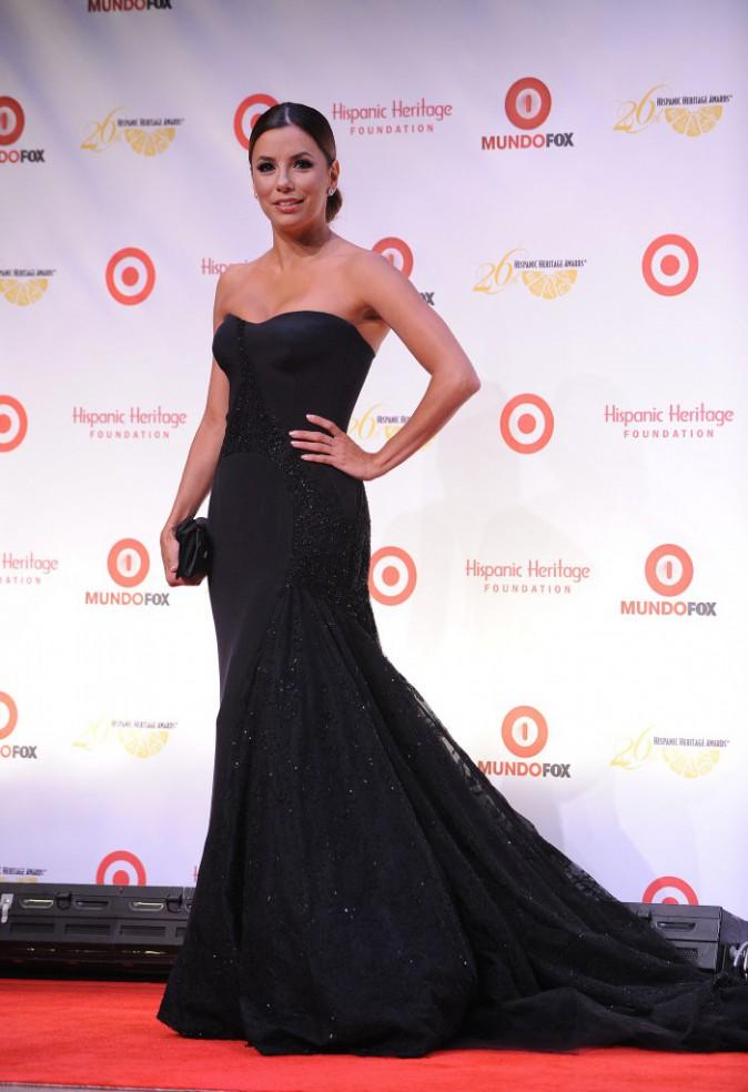"""Eva Longoria lors de la soirée annuelle des """"Hispanic Heritage Awards"""" à Washington, le 5 septembre 2013."""