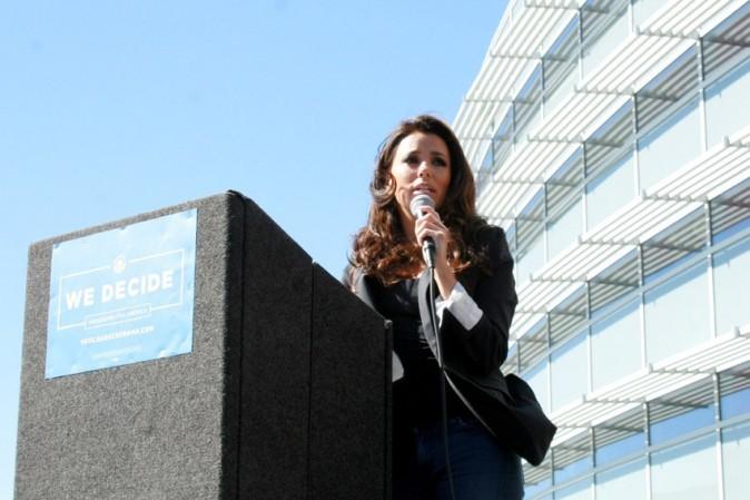 Eva Longoria à Las Vegas le 23 octobre 2012