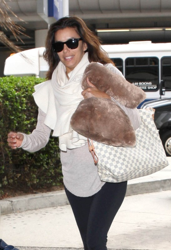 Eva Longoria le 20 octobre 2012 à Los Angeles