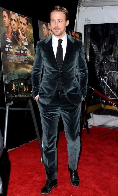 Ryan Gosling lors de la première de The Place Beyond the Pines à New York, le 28 mars 2013.