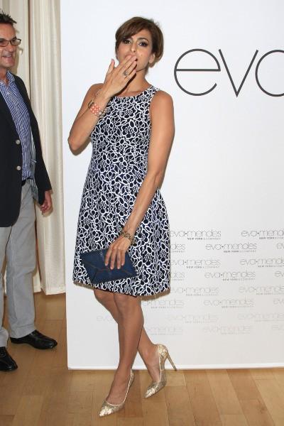 Eva Mendes en promo à Los Angeles, le 18 mars 2014.