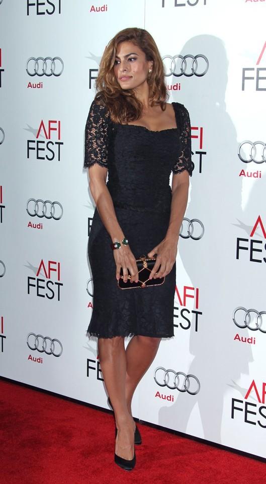Eva Mendes au AFI Film Fest d'Hollywood le 3 novembre 2012
