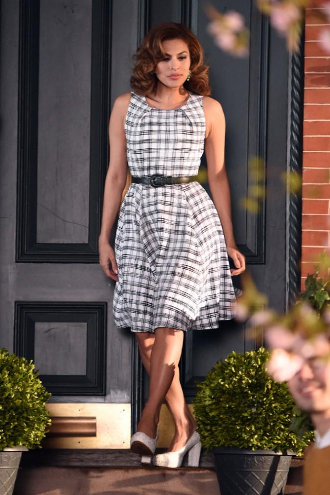Eva Mendes : sublime et so slim, cinq mois apr�s avoir accouch� !