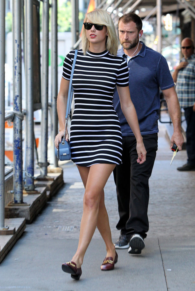 taylor swift dans les rues de new york ce jeudi 15 septembre