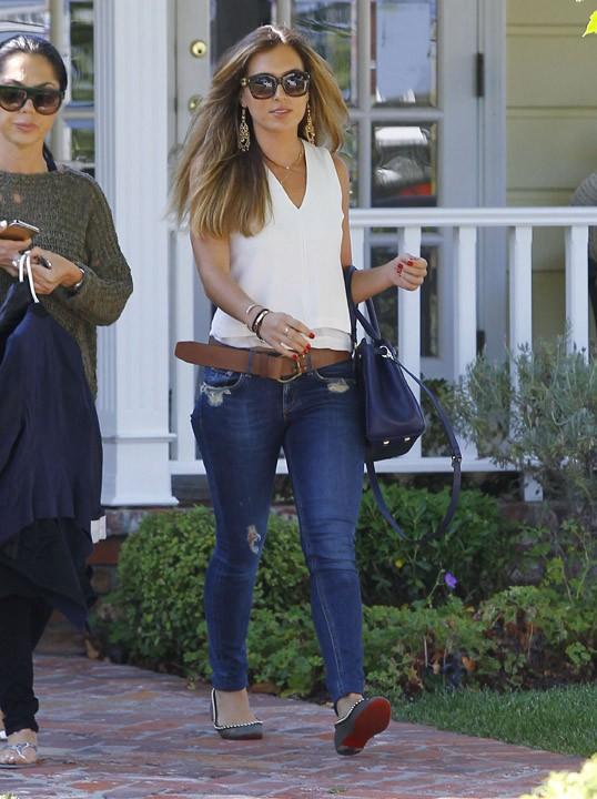 Christine Ouzounian à Los Angeles le 29 juillet 2015