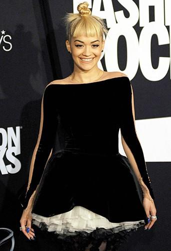Rita Ora à New York le 9 septembre 2014