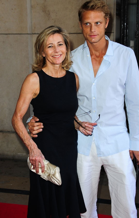 Calire Chazal et Arnaud Lemaire au défilé Giorgio Armani Haute-Couture