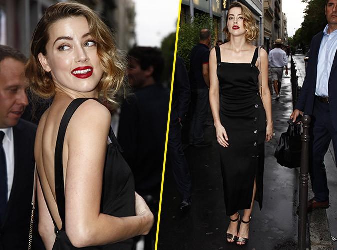 Amber Heard le 7 juillet 2015