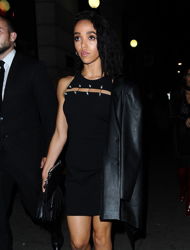 FKA Twigs à Londres le 19 septembre 2015