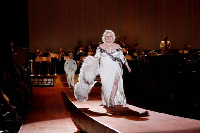 Beth Ditto au défilé Marc Jacobs organisé le 17 septembre 2015