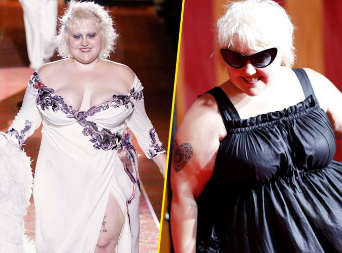 Fashion Week de New-York : Beth Ditto ultra-voluptueuse pour Marc Jacobs !