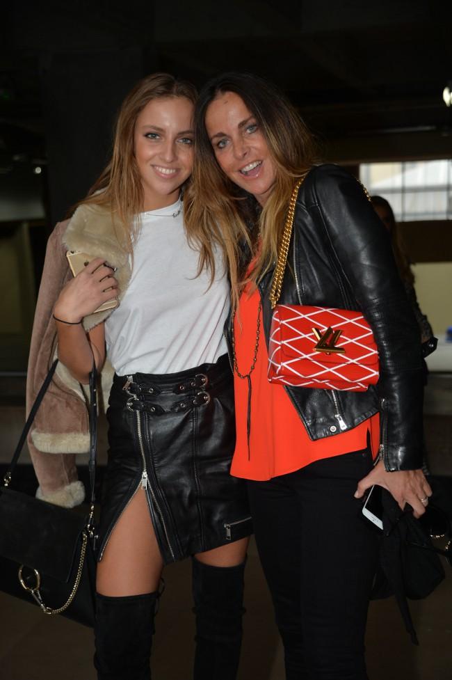Carla et Caroline Ginola le 4 octobre 2015
