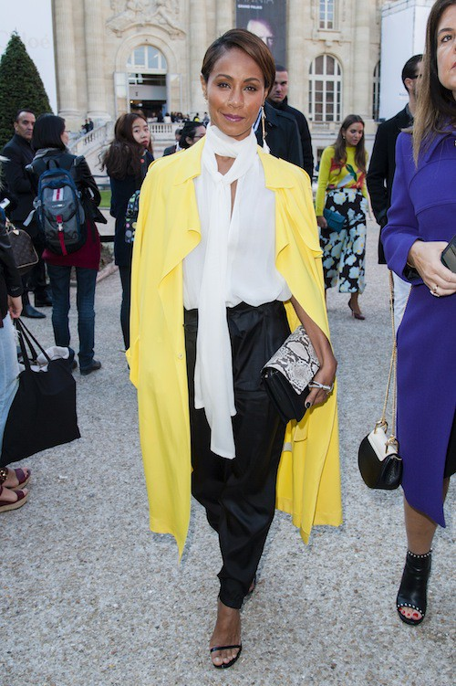 Fashion Week de Paris : Jada Pinkett Smith au défilé Chloé