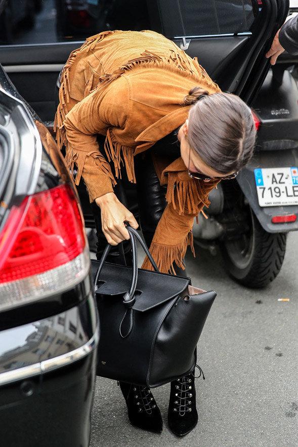 Miranda Kerr à Paris le 6 octobre 2015