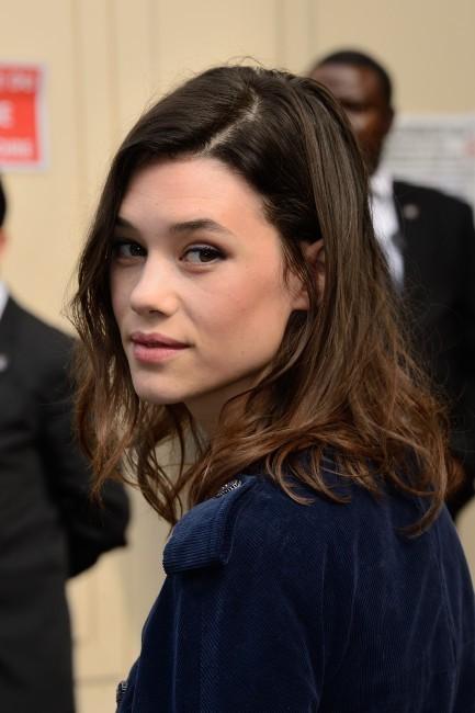 Astrid Bergés-Frisbey lors du défilé Chanel à Paris, le 2 juillet 2013.