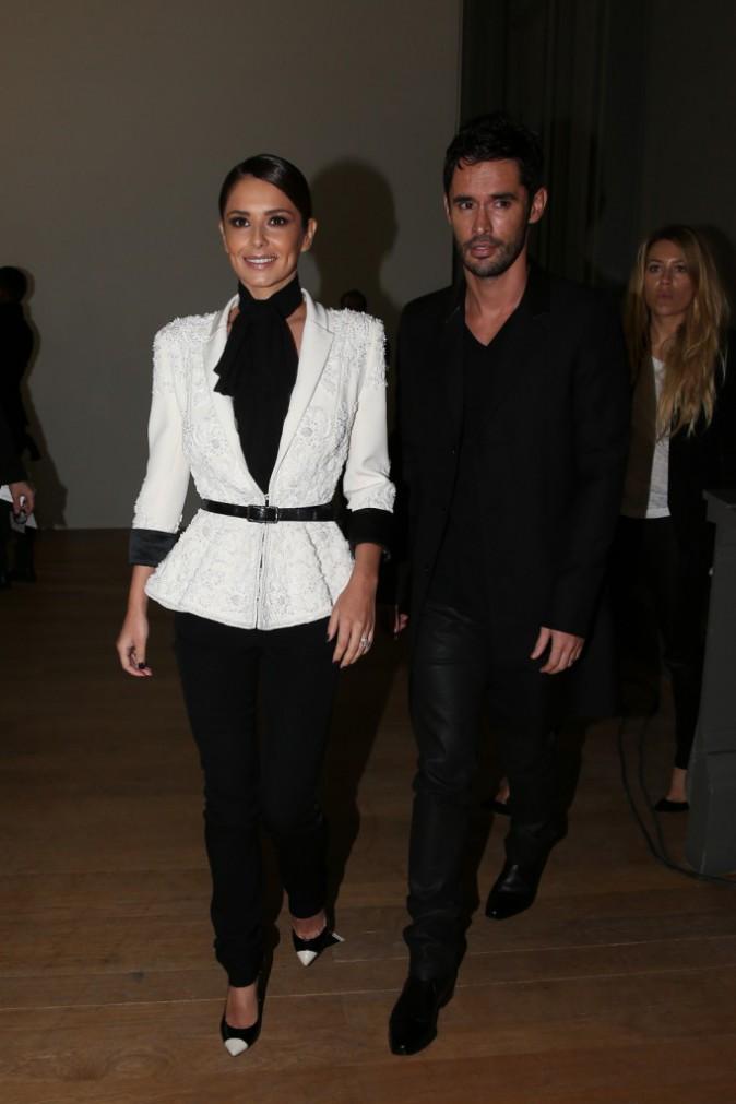 Cheryl et Jean-Bernard Fernandez-Versini le 29 janvier 2015