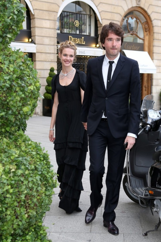 Photos Fashion Week Haute Couture Natalia Vodianova Une Jolie Princesse Amoureuse Au