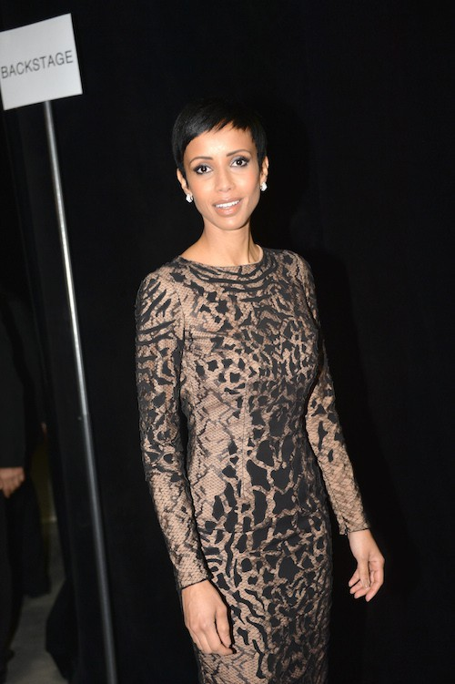 Photos : Fashion Week Haute Couture : Sonia Rolland : ultra sexy au défilé Zuhair Murad !