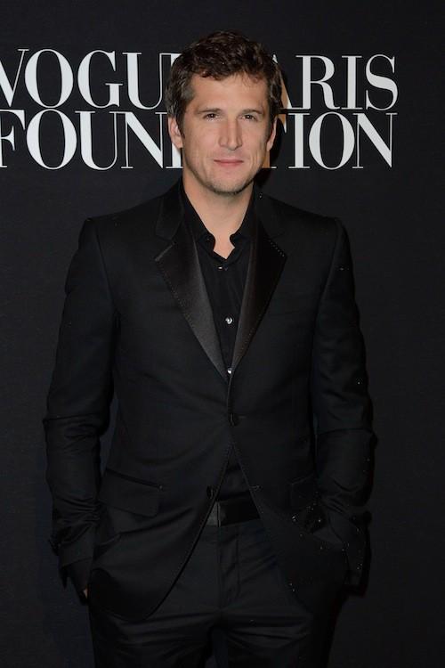 Guillaume Canet en Versace au gala Vogue Foundation le 9 juillet 2014