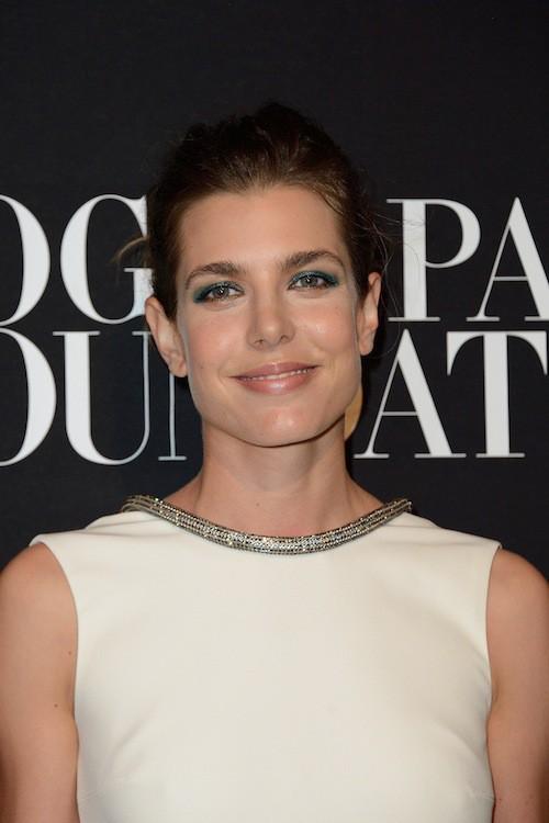 Photos : Fashion Week HC : Charlotte Casiraghi : sculpturale, elle incarne l'élégance au gala Vogue !