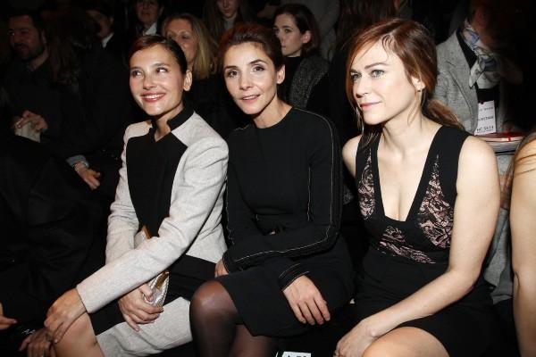 Virginie Ledoyen, Clotilde Courau et Marie-Jose Croze le 23 janvier 2013 à Paris